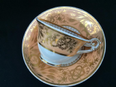 SOLD  SPODE bell shaped tea cup & saucer